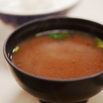 大衆割烹 三州屋 - ご飯・味噌汁