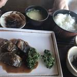 初代惣右衛門 - サバ味噌煮の定食