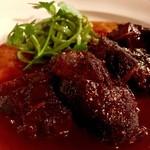 バスク - 牛頰肉の赤ワイン煮