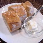 レストラン セビアン - 自家製パン