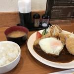 洋食の藤 - 今回は、ランチDセット(2018.1.27)