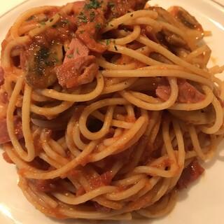 ザ・カフェ - スパゲッティ ナポリタン。 美味し。