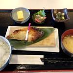 79993161 - カジキマグロの西京焼き定食