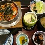 和食つかさ - 五目釜飯定食(780円)