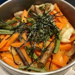和食つかさ - 五目釜飯のアップ