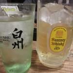 元気が出る居酒屋よだれ屋 - 銘柄指定の日本酒以外はほとんど飲み放題なのはポイント高し!