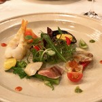 レストラン フェメゾン - 海の幸のマリネ