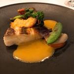レストラン フェメゾン - 鯛とオマールエビ アメリケーヌソース