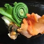 仙台藩 - 閖上赤貝も美しいお料理に