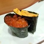 鮨所よし田 - 料理写真:いくら・ウニ