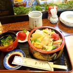 すし満 - 料理写真:2017年12月 上ちらしずし【1750円】