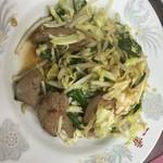 中国料理 一番 - レバニラ炒め