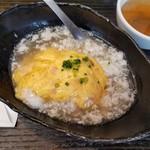 中華・卵料理のお店 卯龍 - 料理写真:塩天津飯ハーフ