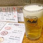 裏剣 - 2017年12月 生ビール【430円】