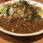 アジアンキッチン オオツカレー - 肉といろいろ野菜のグリーンカレー