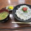紀ノ川サービスエリア下り線 フードコート - 料理写真:しらす丼定食?