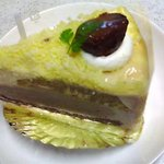 ケーキハウス フランセ ヤノ - マロンケーキ(380円)