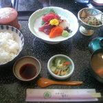 宮寿司 - 刺身ランチ