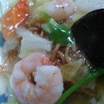 中華菜家 海岸楽園 - 海鮮あんかけ焼そば(単品)