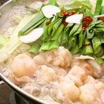 とりのてつ - ガッツリな時は、ぷりっぷりっなもつ鍋が最高!