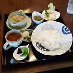 サバァイ - 「緑カレー ランチセット (880円)」
