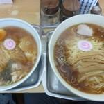 大勝軒 - '18/01/27 中華そば&玉1個(共に本体700円)