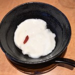 うなぎ本丸 - 杏仁豆腐