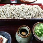 そば処 よしぶ - ざる蕎麦(中盛)