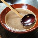 そば処 よしぶ - 自然薯 大(単品で注文出来ます)