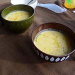 ピッツェリア・イル・ピッコリーノ - 安納芋のポタージュスープ