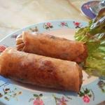 マカン マカン - 牡蠣の春巻2個500円