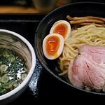らーめん製作所 奏 - 【(限定)魚介醤油つけ麺(味玉付)】¥930