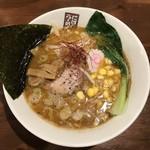 玉五郎 - 極味噌煮干しらーめん    850円