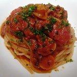 8001041 - 「タコのトマト煮込みのスパゲッティ」