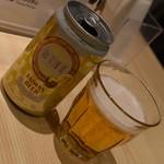 台湾キッチン かのか - 台湾はちみつビール(600円+税)2018年1月