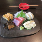 長寿庵 渡邊 - 料理写真:「おつまみ五種盛」