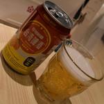 台湾キッチン かのか - 台湾マンゴービール(600円+税)2018年1月