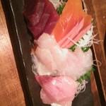 北海道 海鮮居酒屋 魚人  - 刺身盛合せ