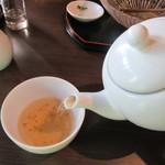 長寿庵 渡邊 - 「蕎麦茶」