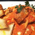 生パスタ専門店センプレ - ナイフが要らないほどに柔らかく煮込んだ柔らか牛タン!