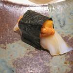 鮨 なかや - アオリイカ&紫雲丹