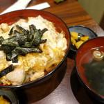 鶏料理専門店みやま本舗 - 黒さつま鶏の親子丼