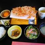 くらさわや - 桜えびかき揚げ定食 1,674円
