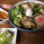 80016218 - 中華丼  600円  ご飯少な目  スープ付き