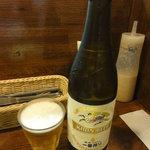 洋食エリーゼ - ビール中瓶(\500)