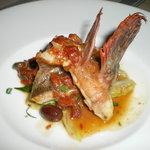 チェルカ トローヴァ - 魚料理(かさご)
