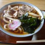 きざき - 肉うどん(750円)_2011-05-28