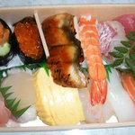なべくら蒲生 - 握り寿司1000円