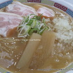 煮干鰮豚骨らーめん 嘉饌 -