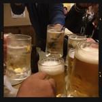 80020547 - ビール&ホッピーで乾杯!